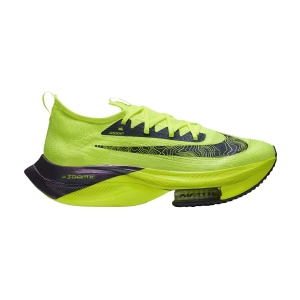 Men's Performance Running Shoes Nike Air Zoom Alphafly Next%  Volt/Black/Racer Blue/Multi Color DC5238702