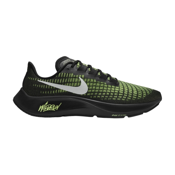 Nike Air Zoom Pegasus 37 - Black/Reflect Silver/Ghost Green