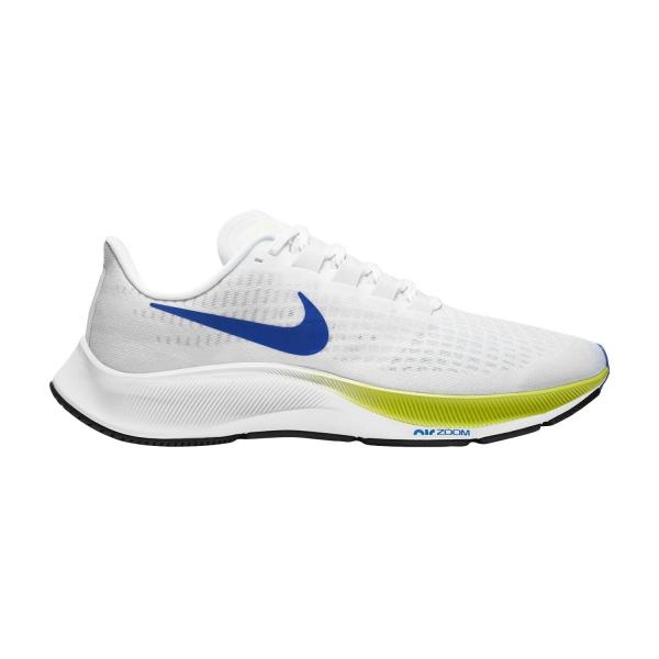Nike Air Zoom Pegasus 37 - White/Racer Blue/Cyber/Black