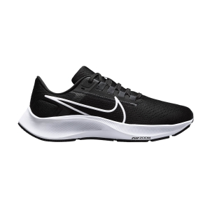 Zapatillas Running Neutras Mujer Nike Air Zoom Pegasus 38  Black/White/Anthracite/Volt CW7358002