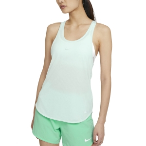 Canotta Running Donna Nike Breathe Cool Canotta  Barely Green/Reflective Silver CZ9608394