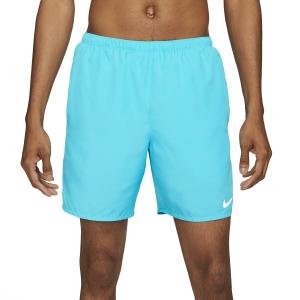 Nike Challenger 7in Pantaloncini - Chlorine Blue/Reflective Silver