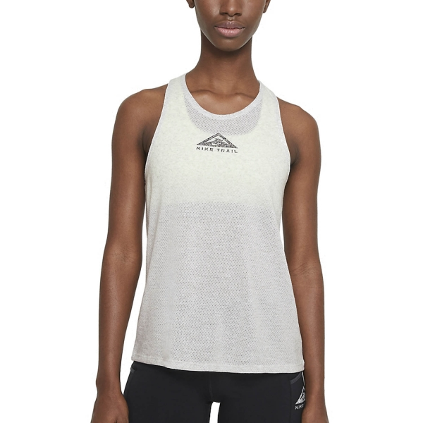 Nike City Sleek Tank - Light Smoke Grey/Grey Fog/Reflective Silver