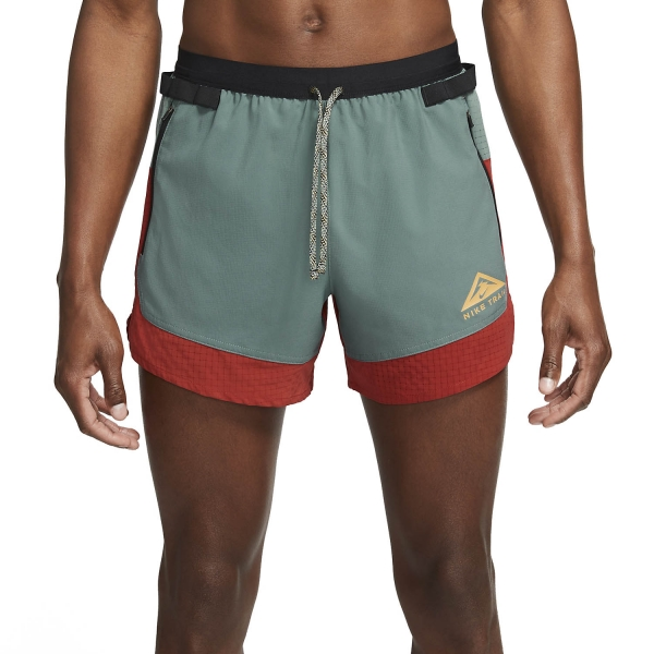 Nike Dri-FIT 5in Flex Stride Shorts - Dark Cayenne/Hasta/Solar Flare