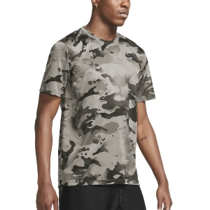 Men's Fitness & Training T-Shirt Nike DriFit Camo TShirt  College Grey/Dark Smoke Grey CU8477033