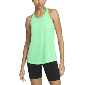 Women's Fitness & Training Tank Nike DriFIT Elastika Tank  Green Glow/Heather/White DA0370342