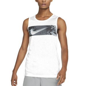 Men's Fitness & Training Tank Nike DriFIT Legend Camo Tank  White DA1589100