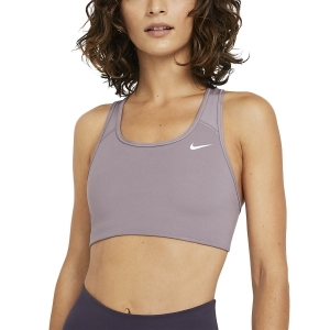 Women's Sports Bra Nike DriFIT Sports Bra  Purple Smoke/White BV3630531