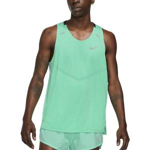 Nike Dri-FIT Rise 365 Canotta - Green Glow/Reflective Silver