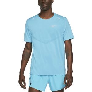 Nike Dri-FIT Rise 365 Camiseta - Chlorine Blue/Reflective Silver