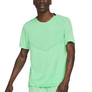 Nike Dri-FIT Rise 365 Camiseta - Green Glow/Reflective Silver