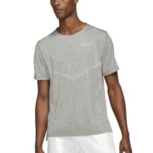 Nike Dri-FIT Rise 365 T-Shirt - Smoke Grey/Heater/Reflective Silver