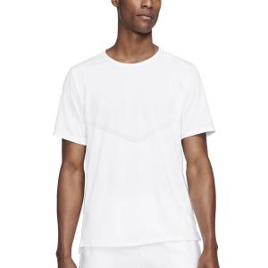 Nike Dri-FIT Rise 365 Maglietta - White/Reflective Silver