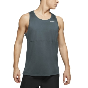 Men's Running Sleeveless Nike DriFIT Run Tank  Hasta/Reflective Silver CJ5388387