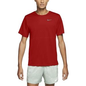 Nike Dri-FIT Swoosh Maglietta - University Red/Reflective Silver
