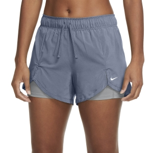 Pantaloncino Fitness e Training Donna Nike Flex Essential 2 in 1 3in Pantaloncini  Ashen Slate/Particle Grey/White DA0453493