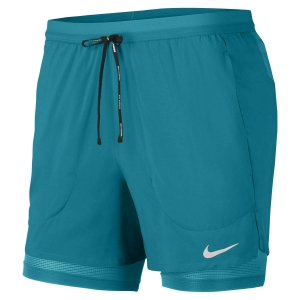 Pantalones cortos Running Hombre Nike Flex Stride 2 in 1 5in Shorts  Blustery/Reflective Silver CJ5467467