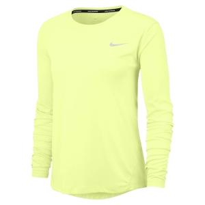 Nike Miler Camisa - Barely Volt/Reflective Silver