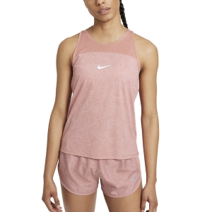 Top Running Mujer Nike Miler Run Division Top  Rust Pink/Reflective Silver DA1248685
