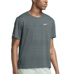 Nike Miler Wild Run Classic Camiseta - Hasta/Reflective Silver