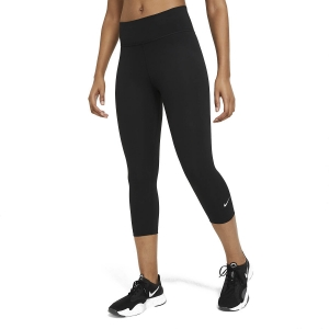 Tight Running Donna Nike One Capri  Black/White DD0245010