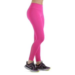 Tight Running Donna Nike One Mid Rise 7/8 Tights  Fireberry/White DD0249615