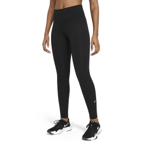 Women's Fitness & Training Pants and Tights Nike One Tights  Black/White DD0252010