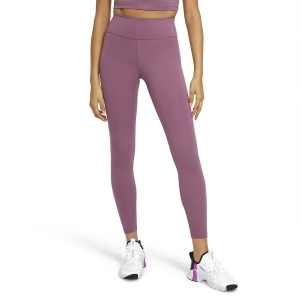 Pants e Tights Fitness e Training Donna Nike One Tights  Light Mulberry/White DD0252533