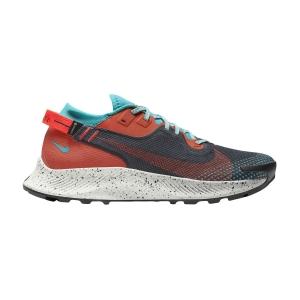 Nike Pegasus Trail 2 GTX - Dark Smoke Grey/Bright Crimson