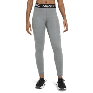 Pants e Tights Fitness e Training Donna Nike Pro 365 Long Tights  Smoke Grey/Heather/Black/White CZ9779084