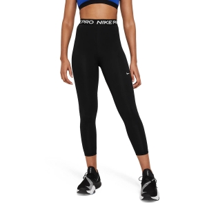 Pants e Tights Fitness e Training Donna Nike Pro 365 Tights  Black/White DA0483013