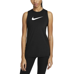 Canotta Fitness e Training Donna Nike Pro Essential Open Canotta  Black/White DA2238010