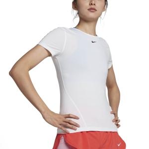 Nike Pro Camiseta - White/Black