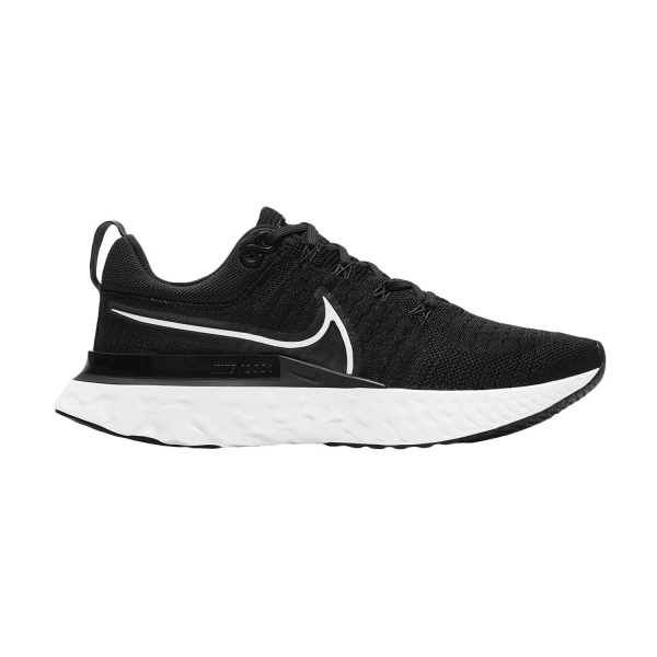 Nike React Infinity Run Flyknit 2 - Black/White/Iron Grey