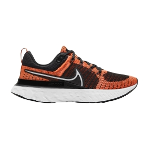 Zapatillas Running Neutras Mujer Nike React Infinity Run Flyknit 2  Bright Mango/White/Black CT2423800
