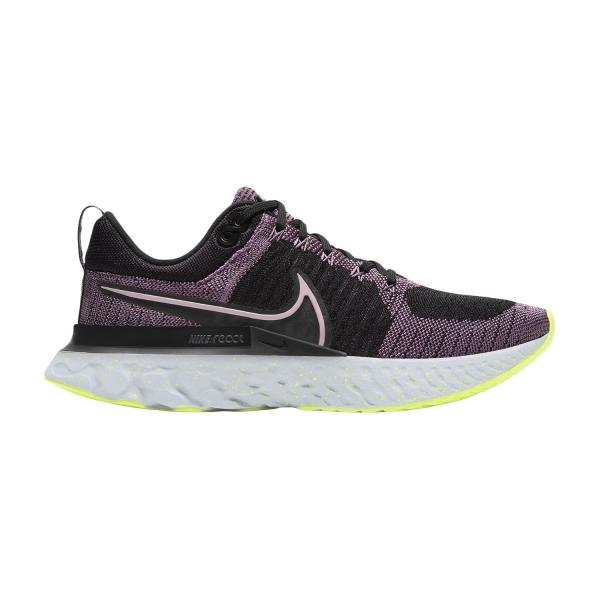 Nike React Infinity Run Flyknit 2 - Violet Dust/Elemental Pink/Black/Cyber