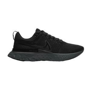 Nike React Infinity Run Flyknit 2 - Black/Iron Grey