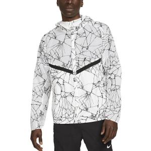 Nike Run Division Pinnacle Jacket - White/Reflective Black