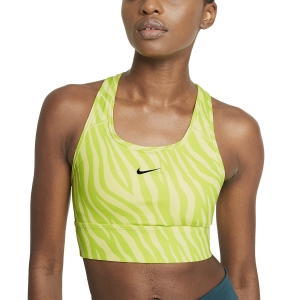 Women's Sports Bra Nike Swoosh Icon Clash Sports Bra  Light Zitron/Black CZ7208712