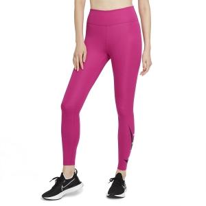 Tight Running Donna Nike Swoosh Logo Run Tights  Fireberry/Reflective Silver DA1145615