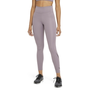 Tight Running Donna Nike Swoosh Logo Run Tights  Purple Smoke/Reflective Silver DA1145531