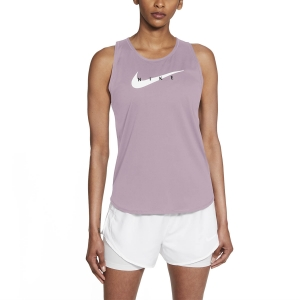 Top Running Mujer Nike Swoosh Run Top  Iced Lilac/Reflective Silver CZ9311576