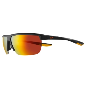 Gafas de Running Nike Tempest Gafas  Matte Gridiron/Total Orange/Brown W/Orange Mirror 43368015