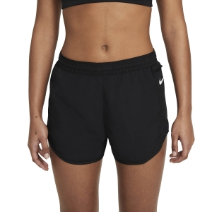 Pantaloncini Running Donna Nike Tempo Luxe 3in Pantaloncini  Black/Reflective Silver CZ9584010