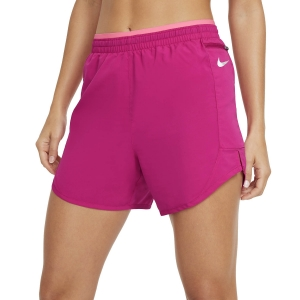Women's Running Shorts Nike Tempo Luxe 5in Shorts  Fireberry/Sunset Pulse/Reflective Silver CZ9576615