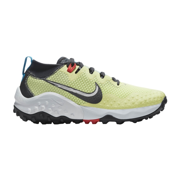 Nike Wildhorse 7 - Limelight/Off Noir/Laser Blue/Chile Red