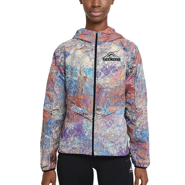 Nike Windrunner Trail Jacket - Blue Lagoon/Black/Reflective Silver