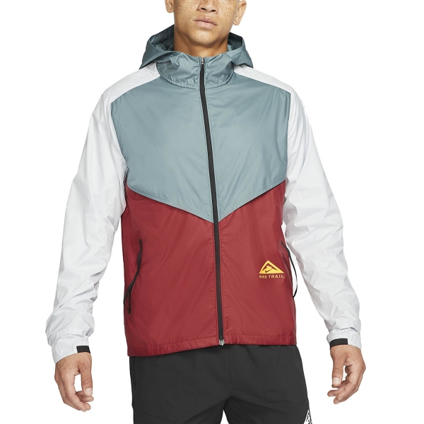 Nike Windrunner Trail Jacket - Hasta/Dark Cayenne/Solar Flare