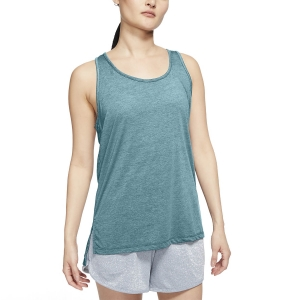 Top Fitness y Training Mujer Nike Yoga Top  Cerulean Heater/Glacier Blue/Limited Armory Blue CQ8826424