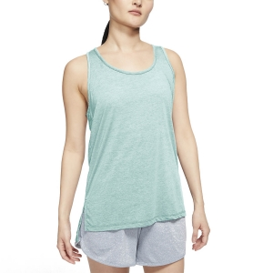 Canotta Fitness e Training Donna Nike Yoga Canotta  Teal Tint/Heater Barely Green/Barely Green CQ8826336